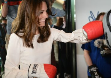 ¡Kate Middleton se pone los guantes de box!