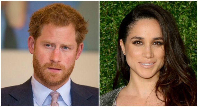 ¡Las primeras fotos del príncipe Harry y Meghan Markle juntos!