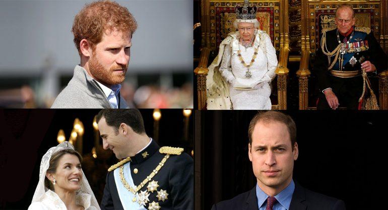 ¿Cuánto ganan los reyes y príncipes de Europa?