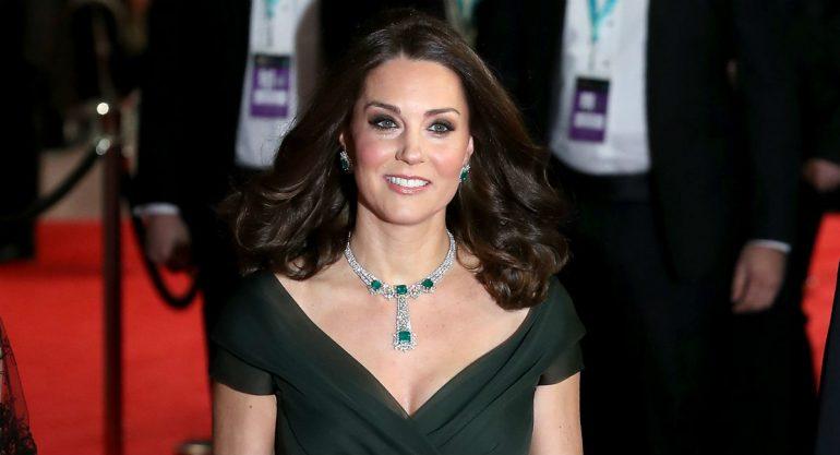 ¿Por qué fue polémico el look de Kate Middleton en los Bafta?