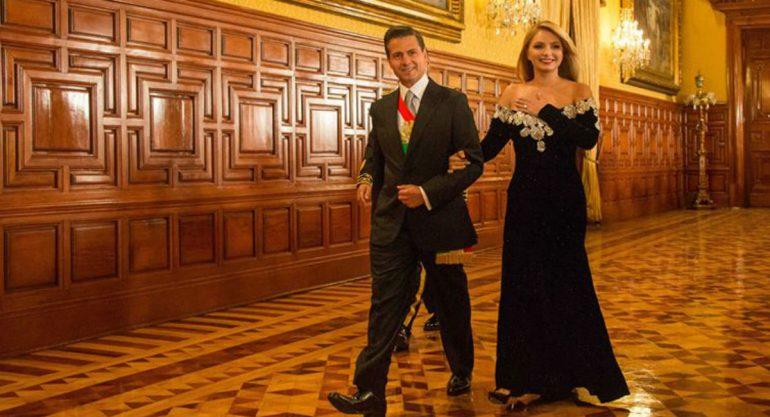 ¿Quién diseñó el vestido de Angélica Rivera para el 15 de septiembre?