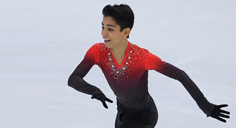 ¿Quién es el patinador que compitió en Japón con música de Juan Gabriel?