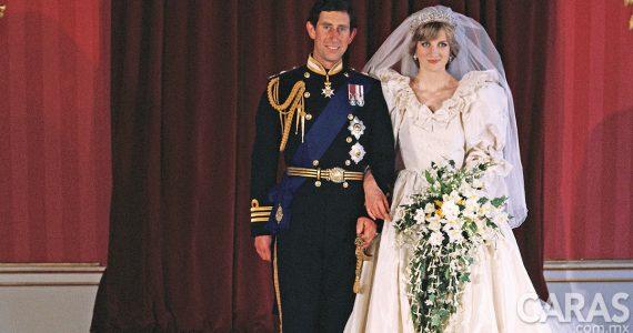 10 datos que no sabías del vestido de novia de Lady Di