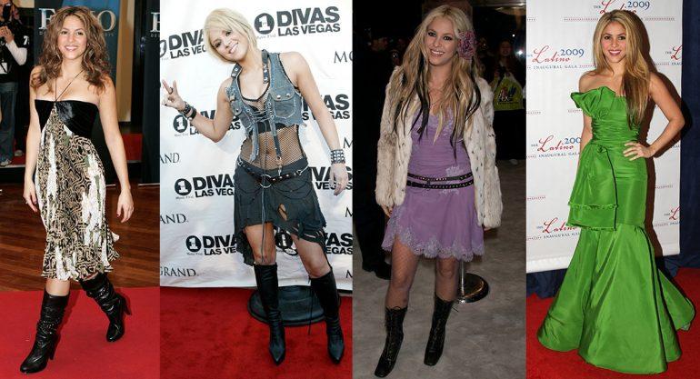 10 looks más criticados de Shakira