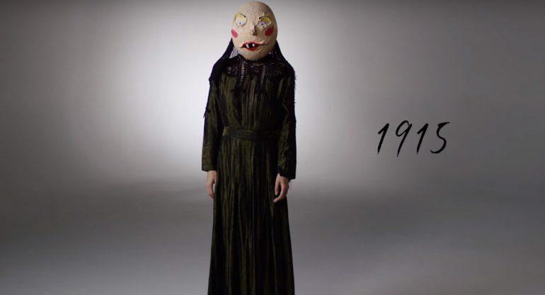 100 años de cambios del disfraz de Halloween