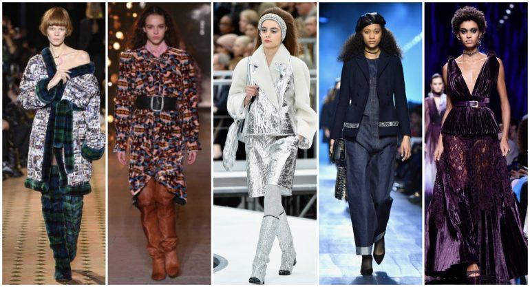 5 tendencias para invierno que nos dejó la Paris Fashion Week