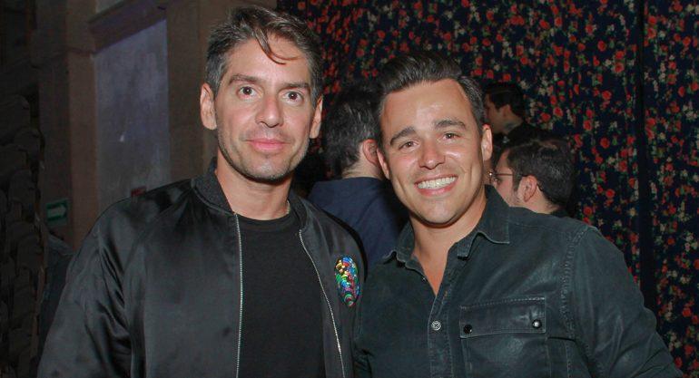 Abelardo Marcondes y Ricardo Díaz en la apertura Casa Corona CDMX