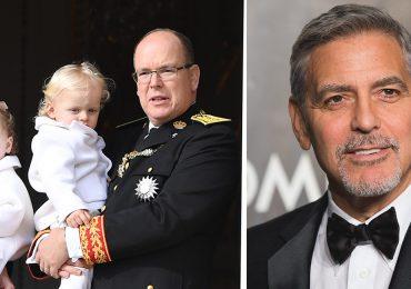 Alberto de Mónaco aconseja a George Clooney sobre ser padre de gemelos