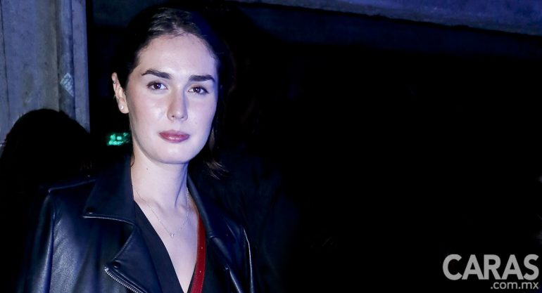Alejandra Velázquez Loustau en la fiesta de inauguración de Material Art Fair