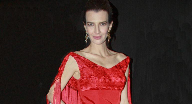 """Aline Bortoloti en la cena de Gala """"Night Of Stars"""""""
