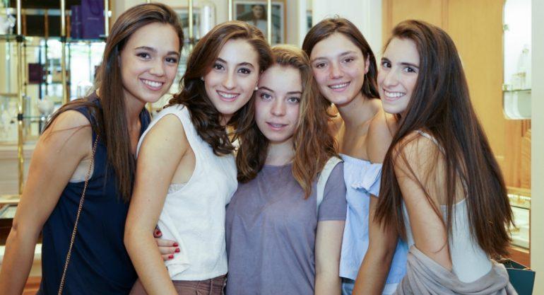 Alumnas del Colegio Irlandés