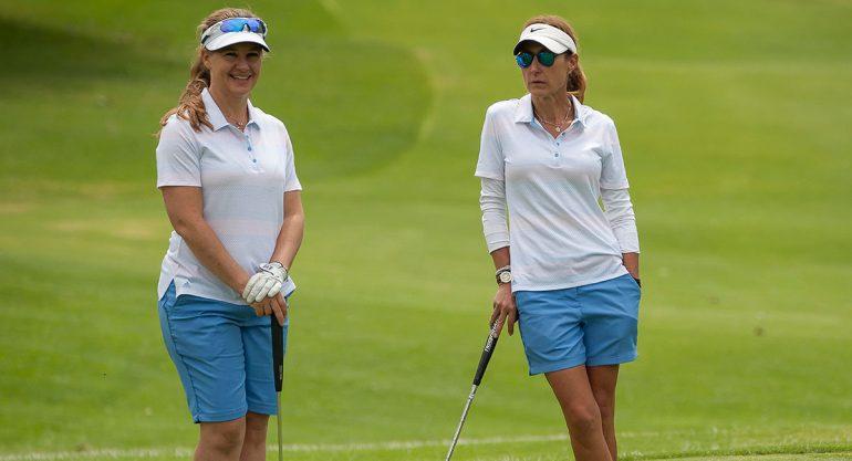 Amparo Díaz y Mariana Lose en la Copa Challenge