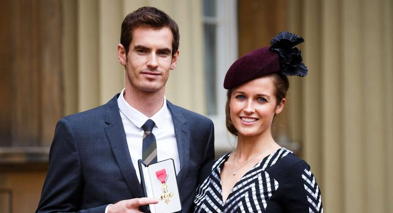 Andy Murray y Kim Sears debutan como padres