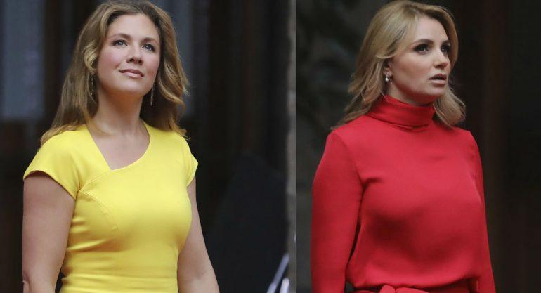Angélica Rivera y Sophie Trudeau: duelo de estilos