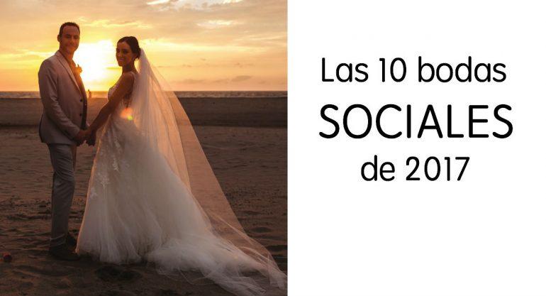 Anuario 2017: Las bodas sociales del año