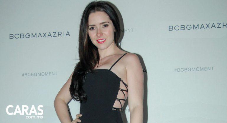 Ariadne Díaz en fashion lounge de BCBG Max Azria