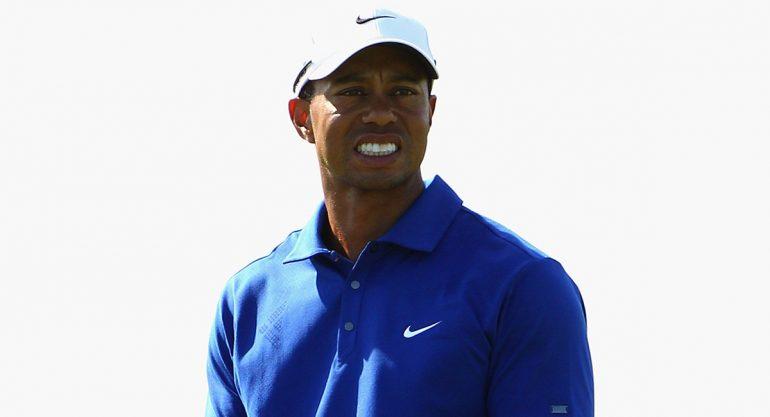 Arrestan al golfista Tiger Woods