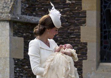 Así fue el bautizo de la princesa Charlotte Elizabeth Diana