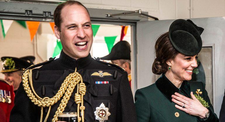 Así celebraron los Duques de Cambridge el Día de San Patricio
