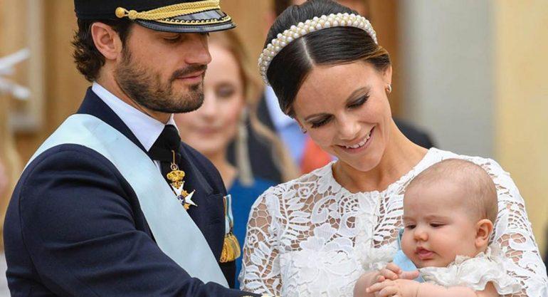 Así fue el bautizo del príncipe Alexander de Suecia