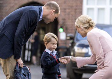 Así fue el primer día de clases del príncipe George