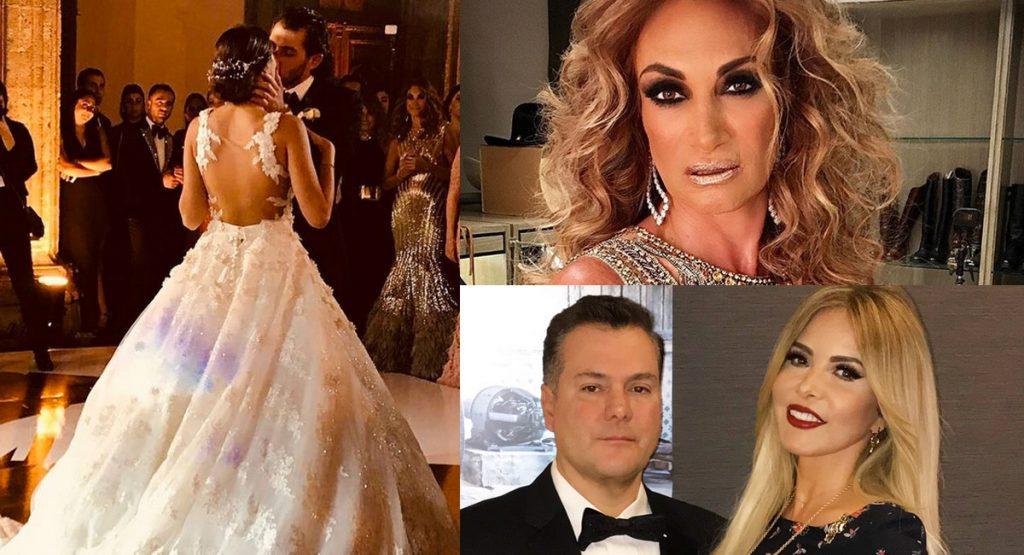 Así fue la excéntrica boda de Carlos Gotlib Micha e Ivonne Betech