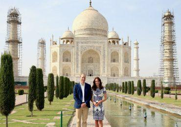 Así fue la visita de los Duques de Cambridge al Taj Mahal