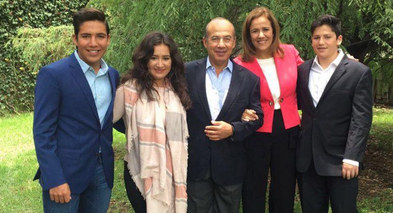 Así han crecido los hijos de Margarita Zavala y Felipe Calderón