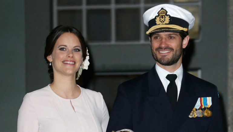 Así luce la princesa Sofía de Suecia tras embarazo