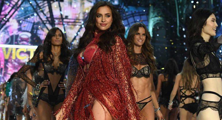 Así lució Irina Shayk en el desfile de Victoria's Secret