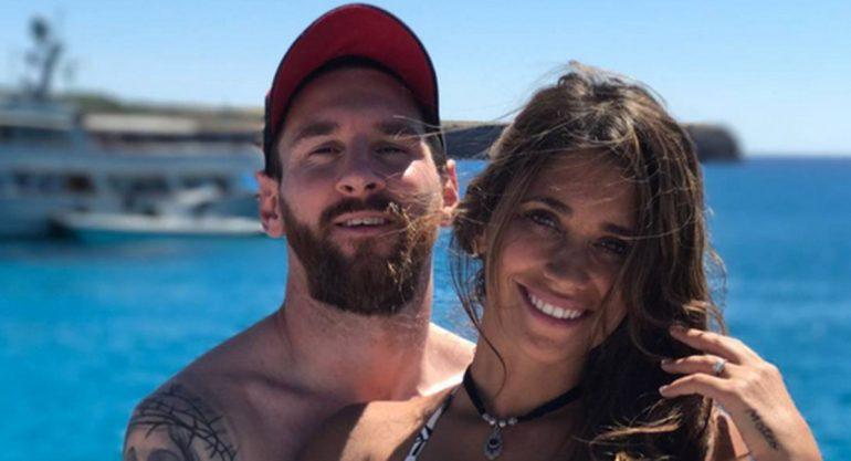Aseguran que Lionel Messi y Antonella Roccuzzo serán papás