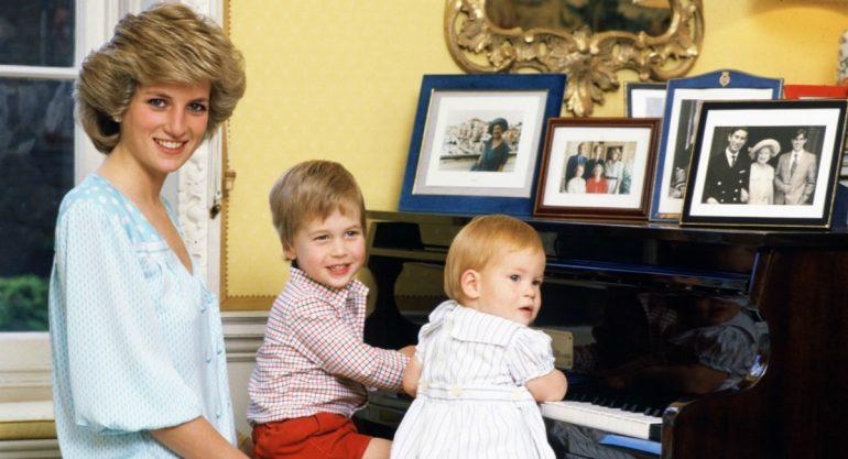 Audio de Lady Di revela tiernos detalles de infancia de William y Harry