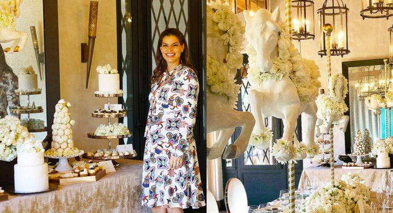 Bárbara Coppel y su elegantísimo baby shower