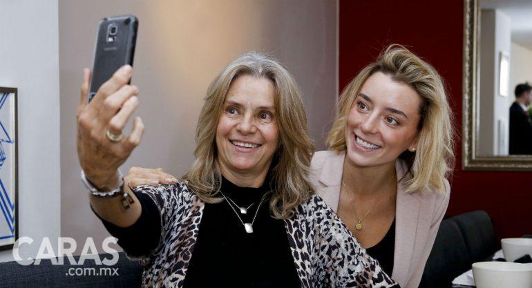 Beatriz y Michelle Mettey en la Sparty Fashionalité