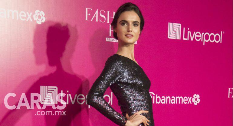 Blanca Padilla encabeza la pink carpet del Fashion Fest de Liverpool