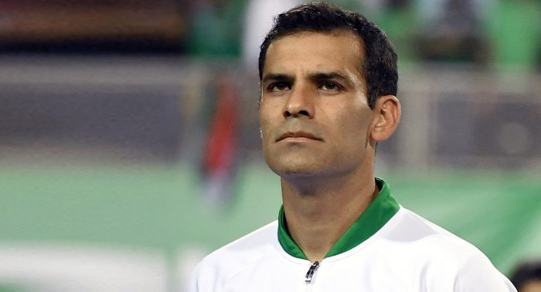 Bloquean cuentas de Rafa Márquez en México