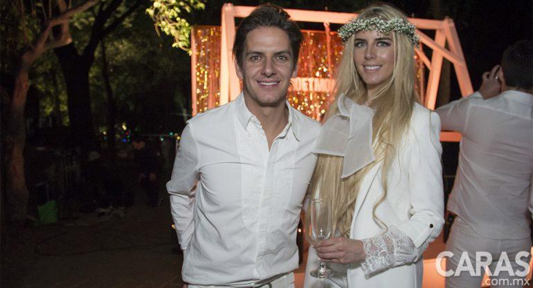 Bobby Domínguez y Tania Ruiz en Le Dîner en Blanc