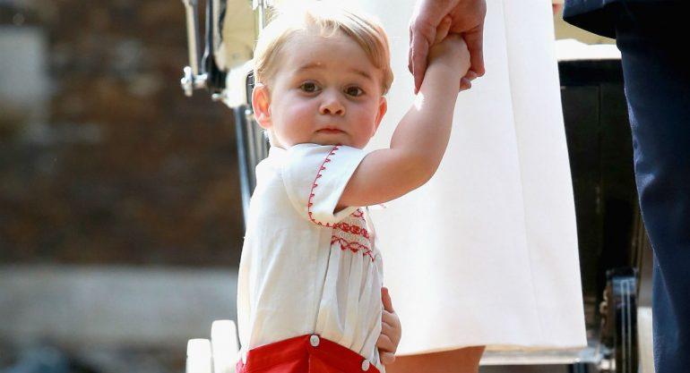 Cariñoso apodo con el que el príncipe George nombra a la Reina Isabel II
