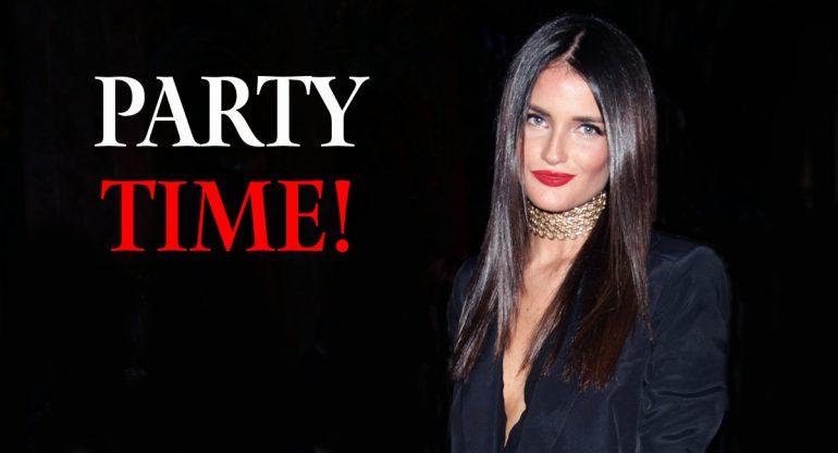 Carla Figliozzi en la fiesta por los 250 años de Hennessy