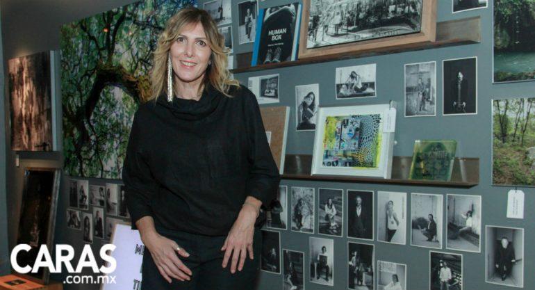 Carla Weinberg en la presentación de las nuevas colecciones de Juliana Home
