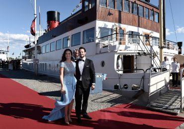 Carlos Felipe y Sofia Hellqvist despiden su soltería