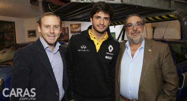 Carlos Sainz Jr.? en la presentación de Renault Sport Fórmula One Team