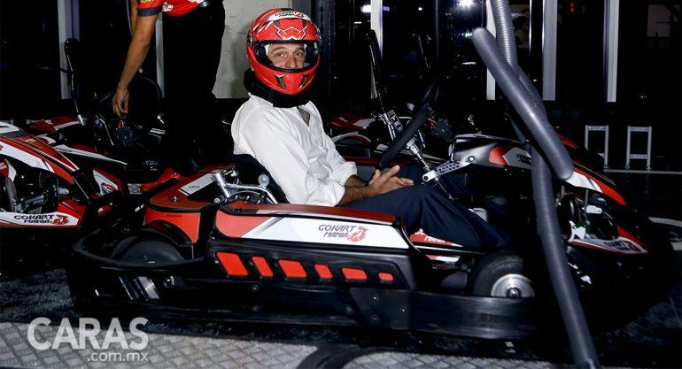 Carlos Slim Domit inaugura pista de GoKarts