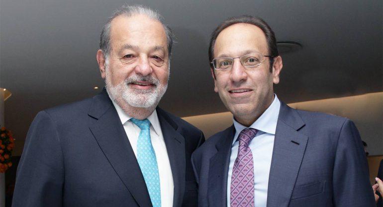 Carlos Slim y Marco Antonio Slim Domit el los Premios de la Salud