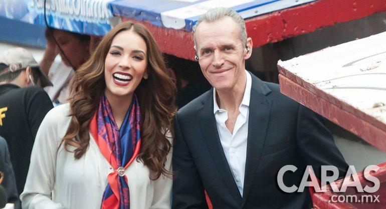 Carolina Morán y Heriberto Murrieta en la Plaza de Toros
