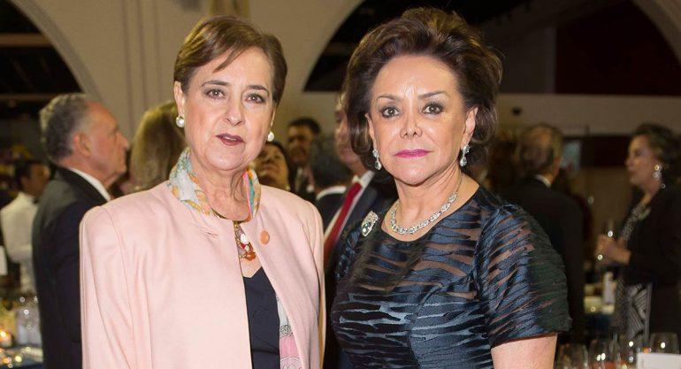 Cecilia Occelli y Adriana Salinas en en 10mo aniversario del MAP