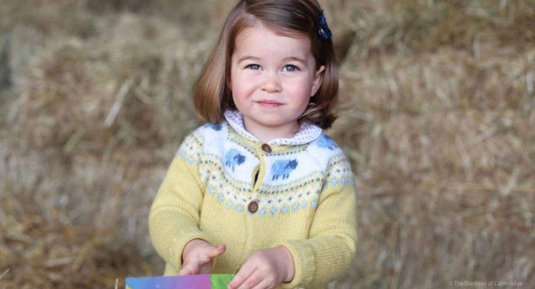 Celebran el segundo cumpleaños de la princesa Charlotte con foto