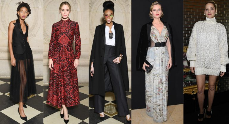 Celebridades en el Paris Fashion Week