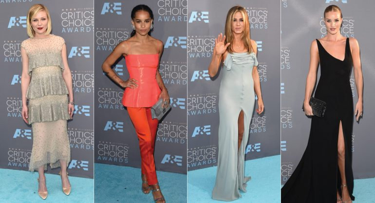Celebs en los Critics' Choice Awards