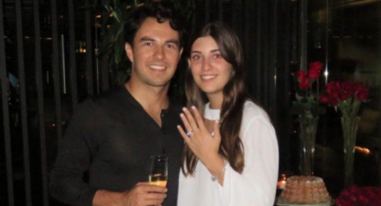 Checo Pérez y Carola Martínez ya tienen fecha de boda